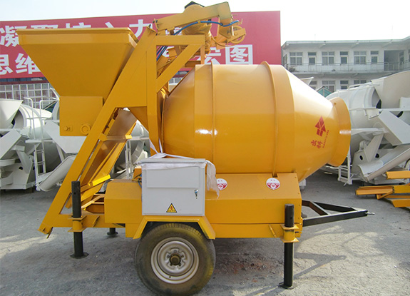 JZM500 Self falling mobile drum concrete mixer machine