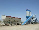 120m3/h Concrete Batching Plant installed in Vietnam