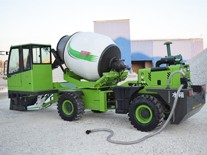 Precautions for cleaning of self loading mixer truck