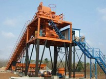 Installation steps of concrete batching plant